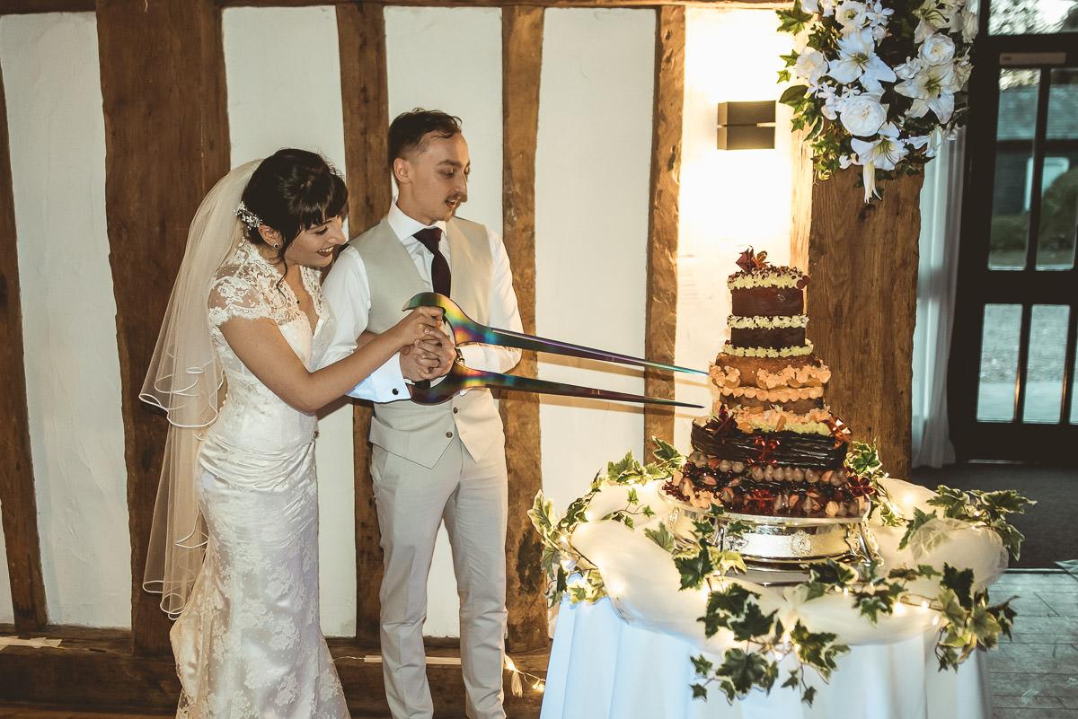 Tudor Barn Burnham Wedding 99