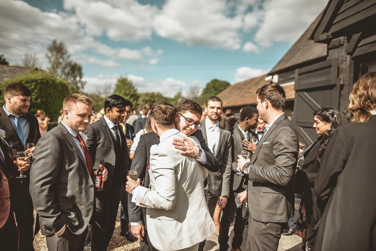 Tudor Barn Burnham Wedding 49