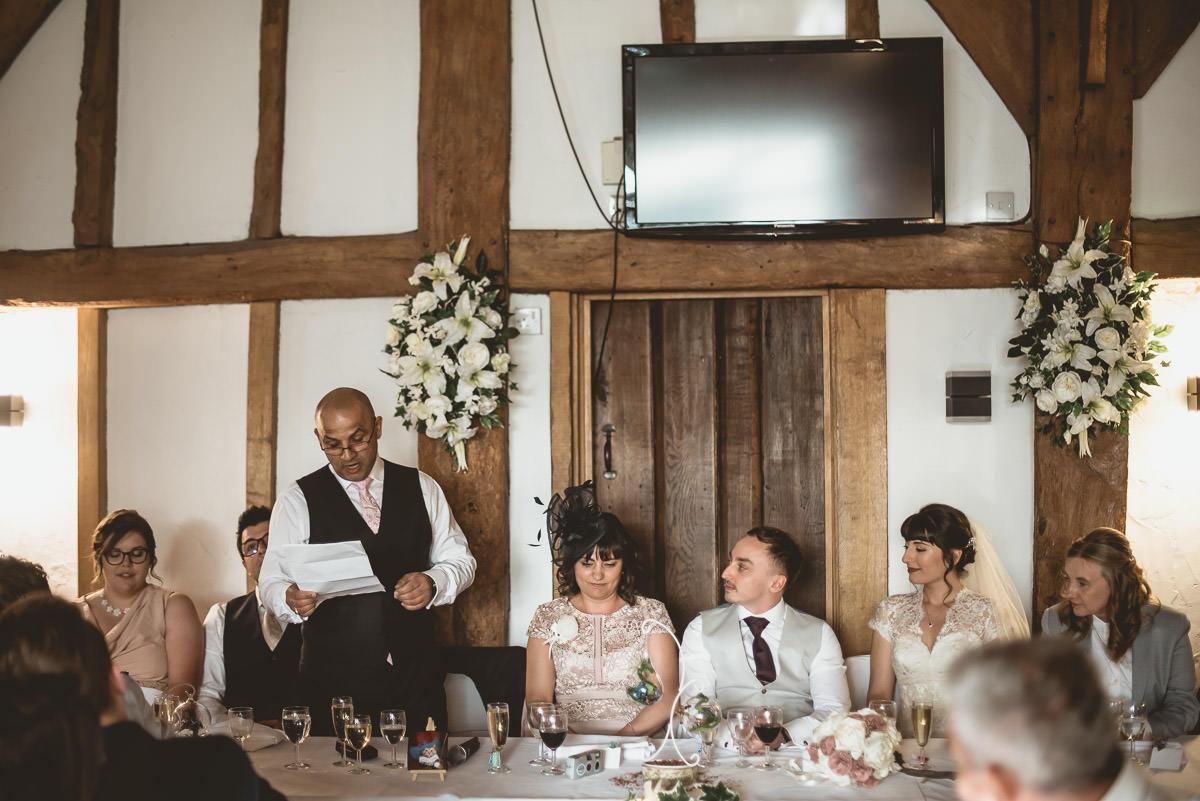 Tudor Barn Burnham Wedding 73