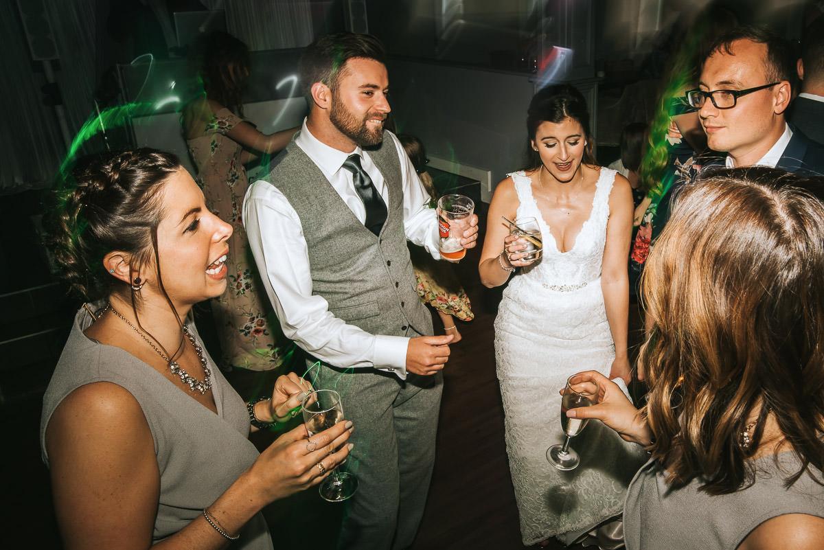 Wedding Photographer Hampshire- Skylark Club 100