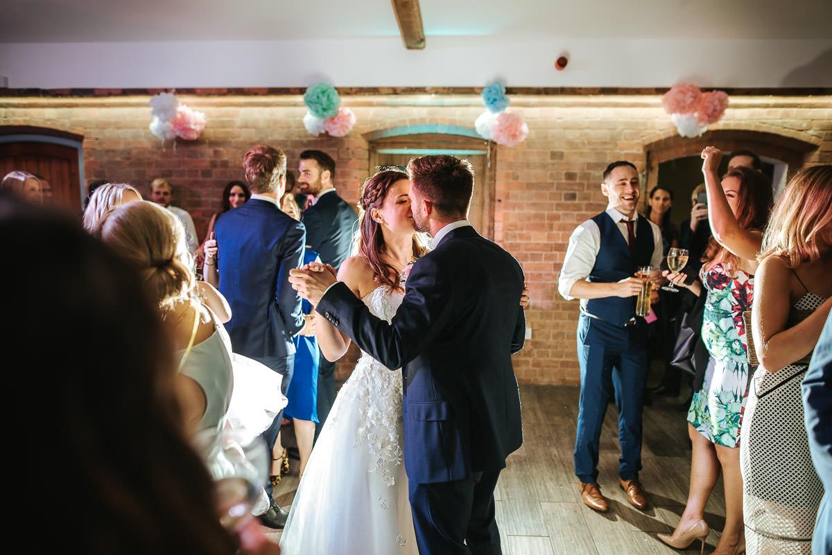 Swallows Nest Barn - Wedding Photographer Warwickshire 100