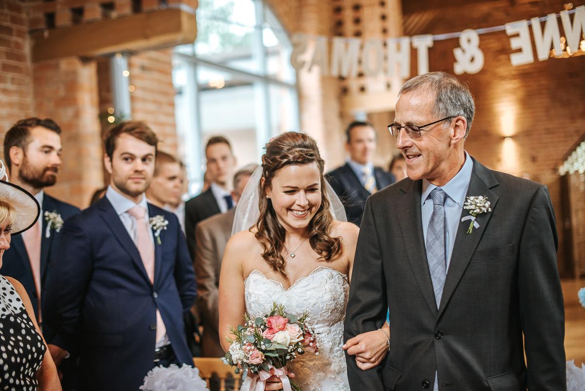 Swallows Nest Barn - Wedding Photographer Warwickshire 33