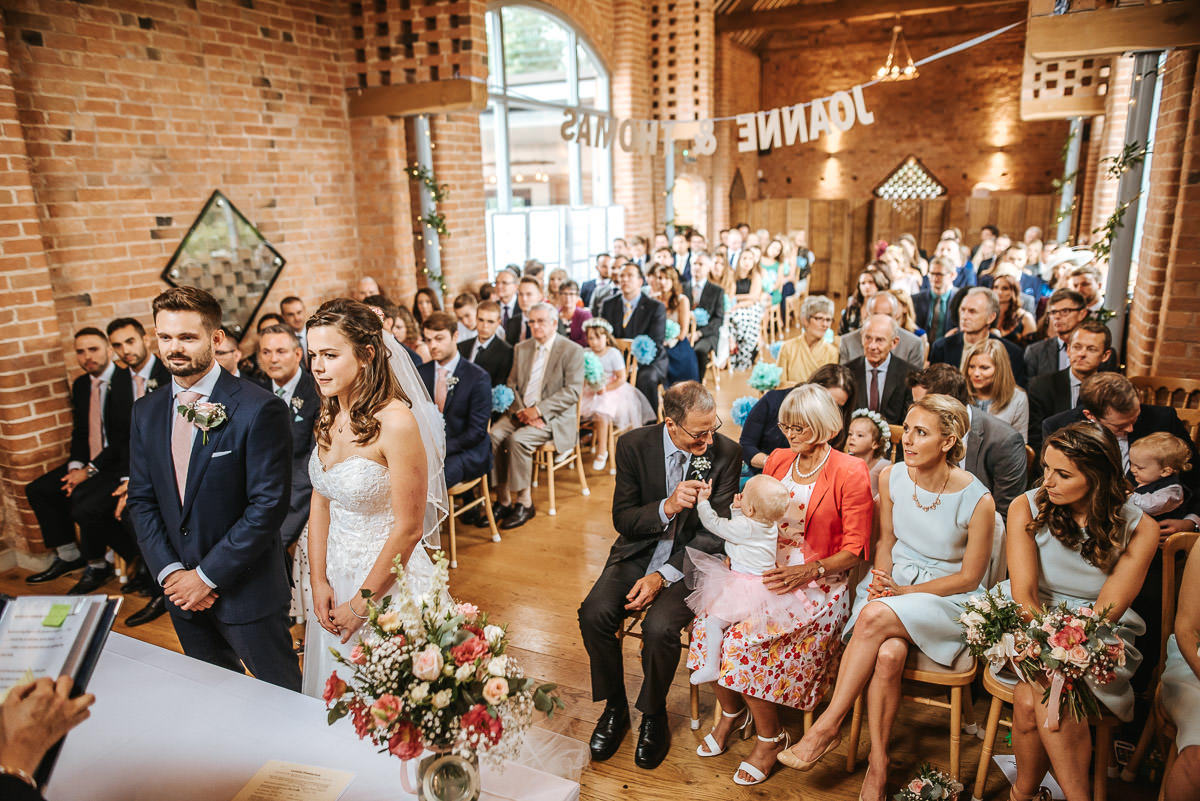Swallows Nest Barn - Wedding Photographer Warwickshire 35