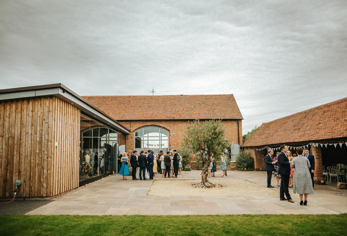 Swallows Nest Barn - Wedding Photographer Warwickshire 53