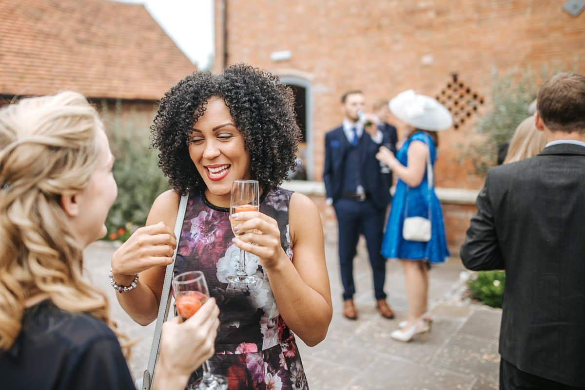 Swallows Nest Barn - Wedding Photographer Warwickshire 56