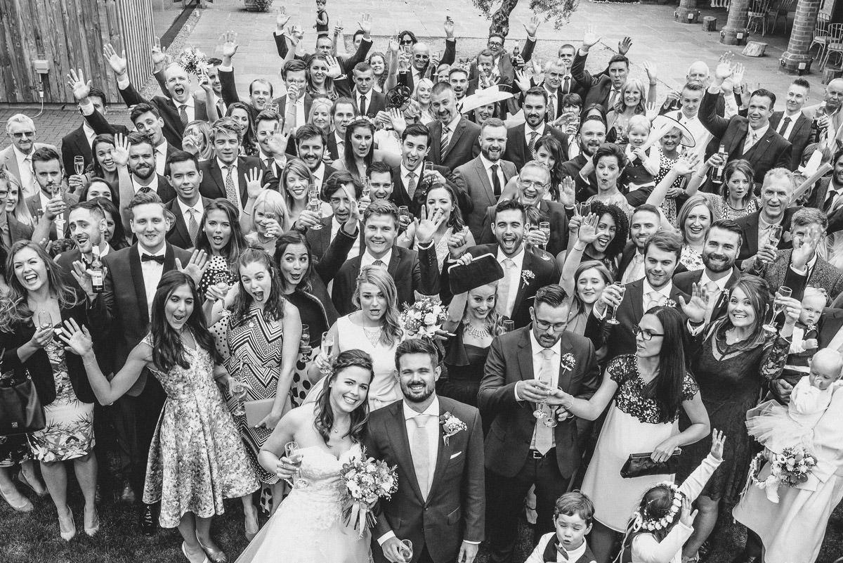 Swallows Nest Barn - Wedding Photographer Warwickshire 51