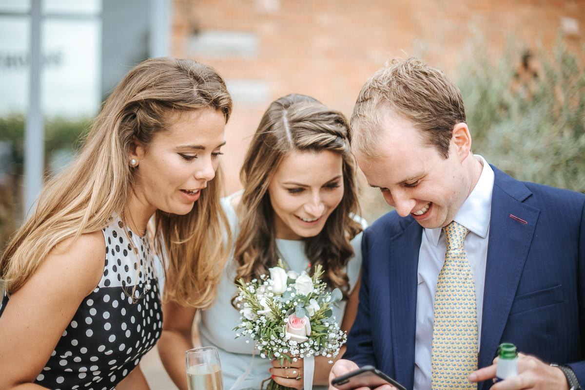 Swallows Nest Barn - Wedding Photographer Warwickshire 59