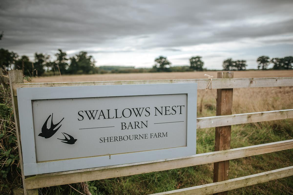 Swallows Nest Barn - Wedding Photographer Warwickshire 1