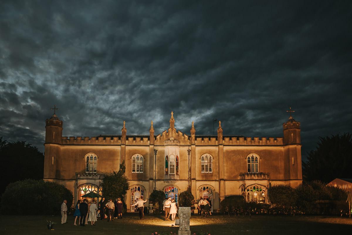 missenden abbey evening wedding