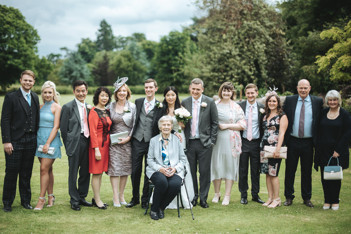 missenden abbey wedding semi formal