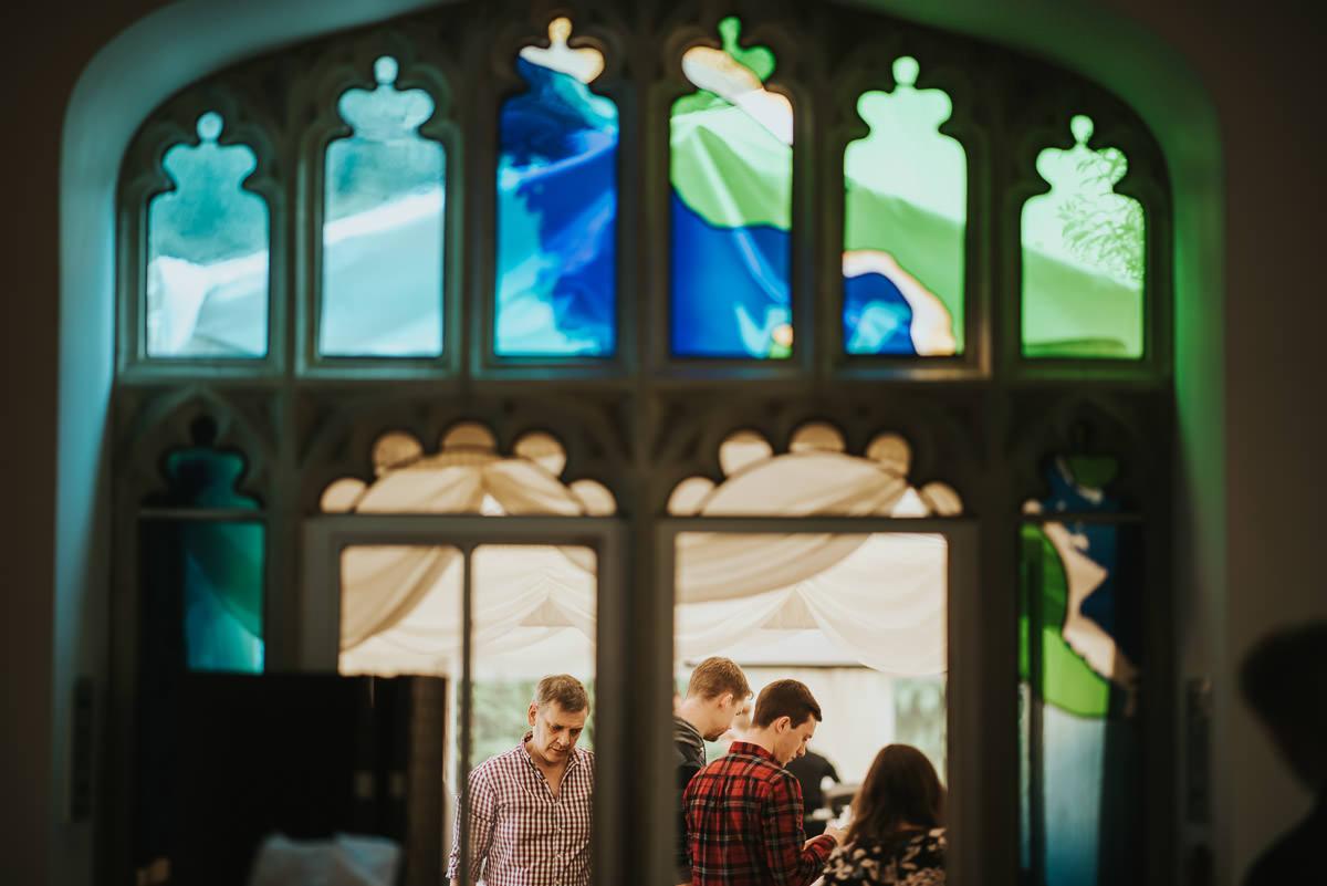 missenden abbey wedding preparations