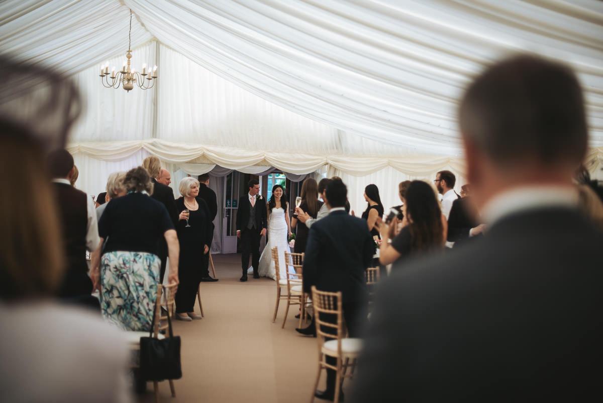 missenden abbey wedding marquee