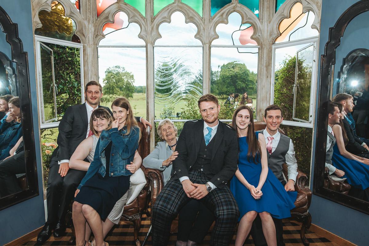 missenden abbey wedding guests