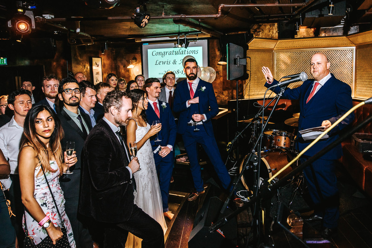 city london wedding at the botanist