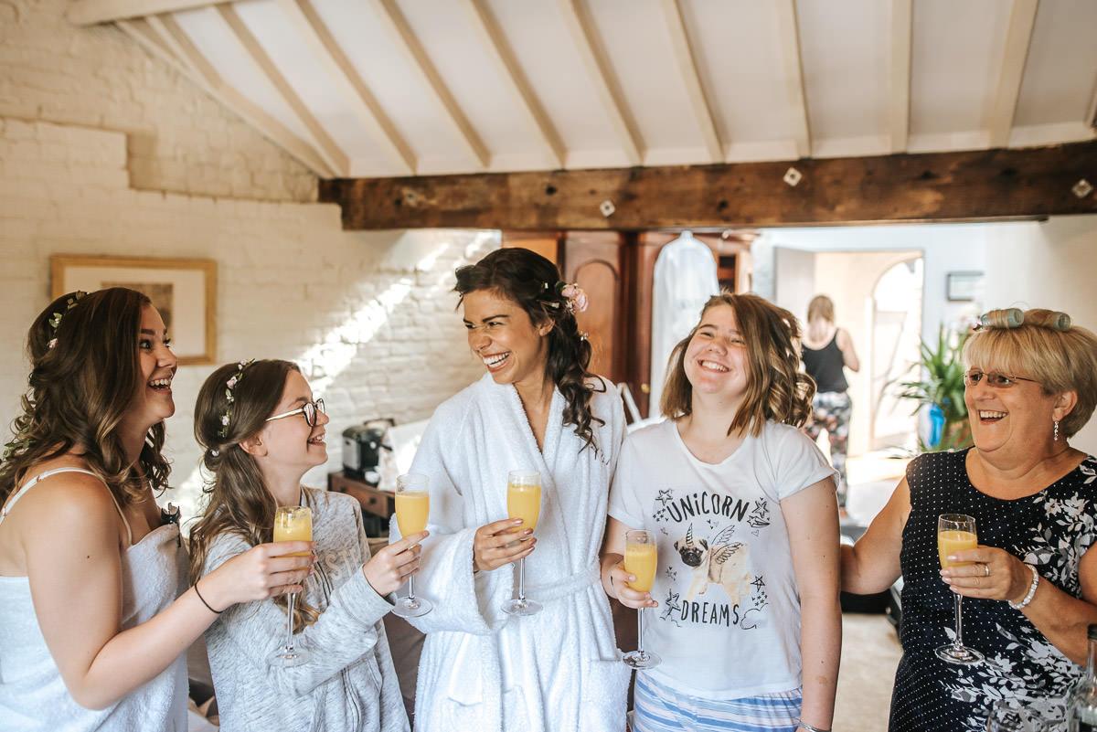 york and albany wedding bride