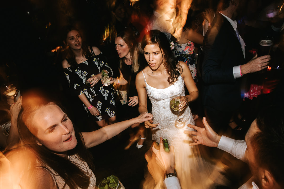 city london wedding at the botanist party