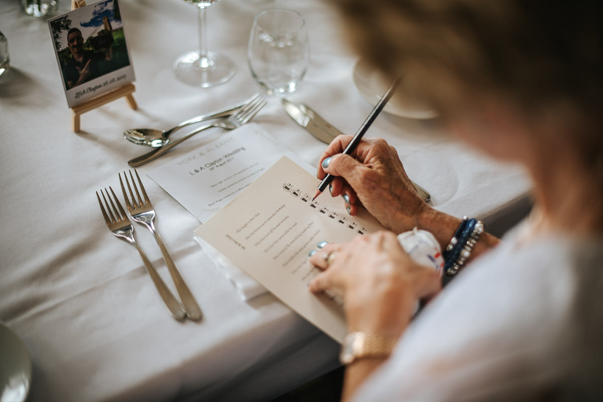 regents park york and albany london wedding breakfast