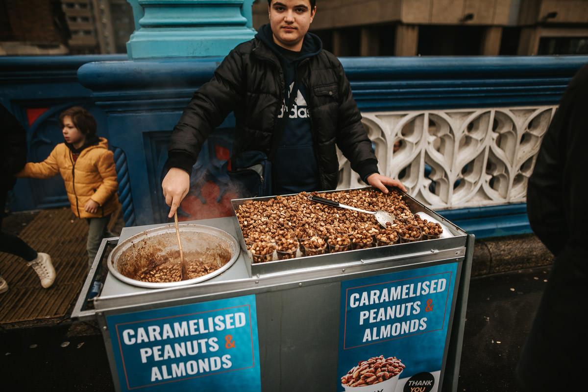 carmelised nuts