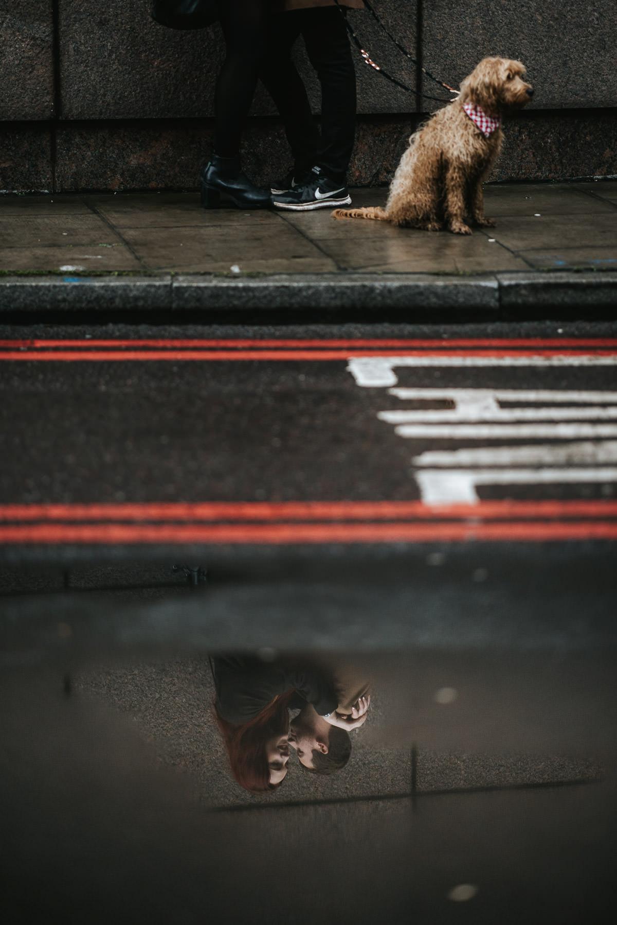 london engagement shoot