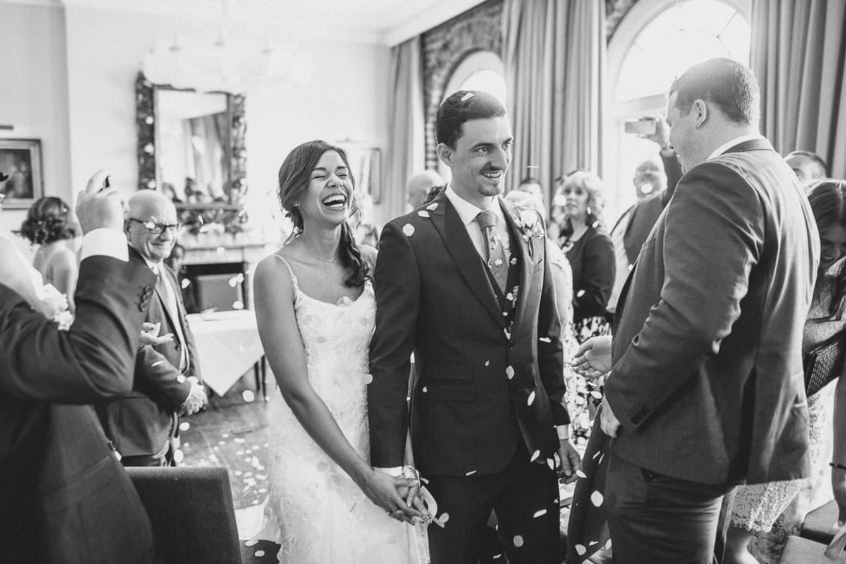 london wedding confetti