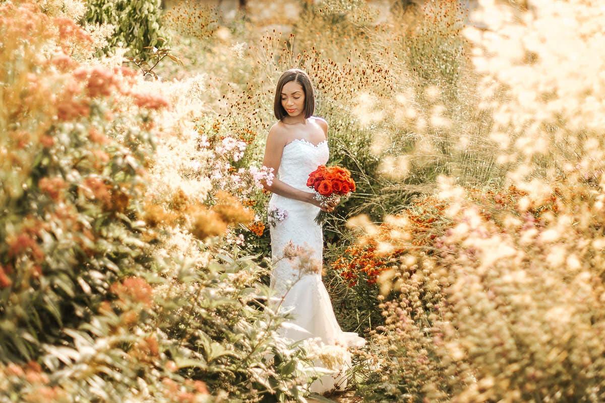 bury court barn bride