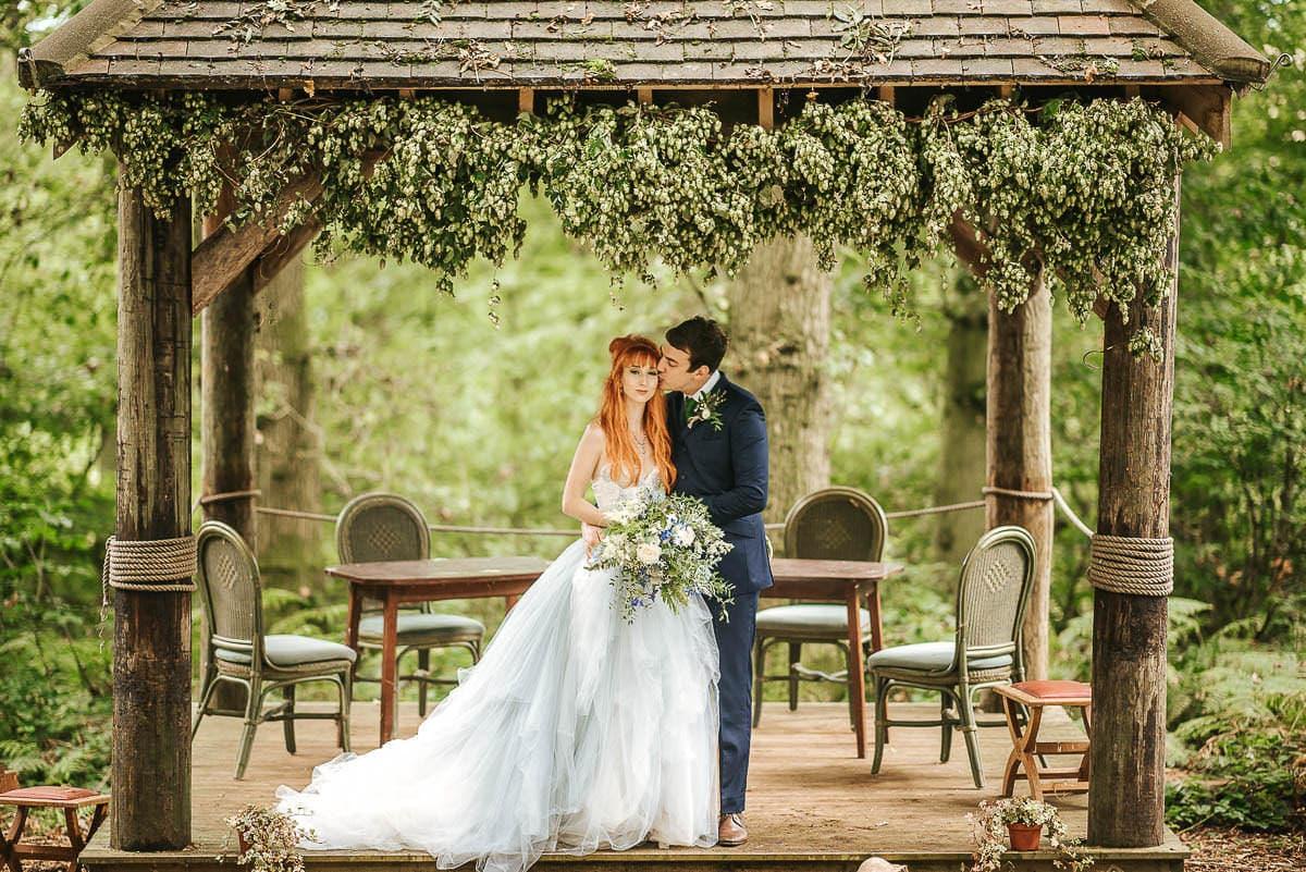 fairytale wedding ginger bride