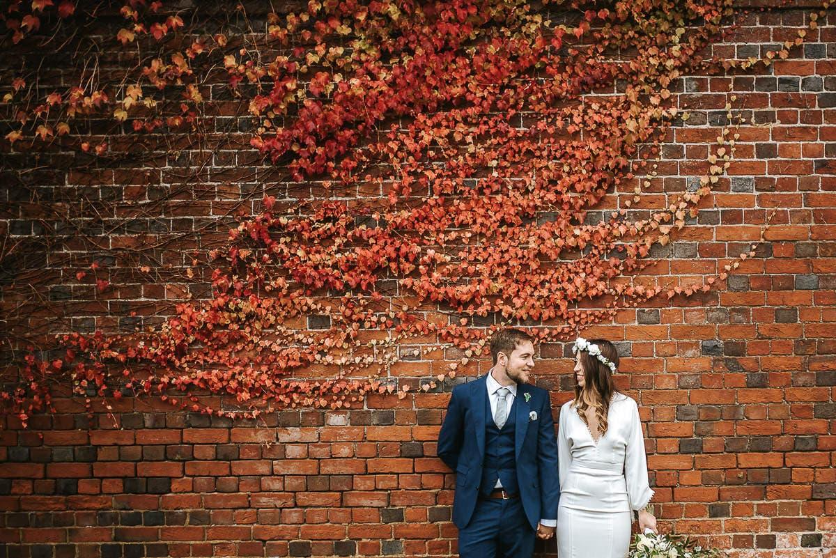 lillibrooke manor wedding couple