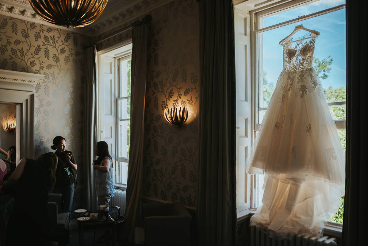 morden hall wedding getting ready