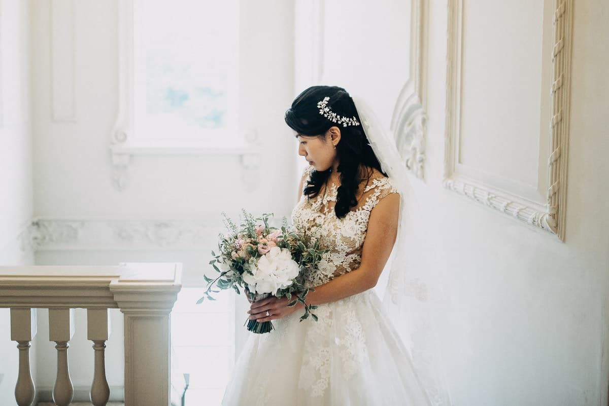 morden hall wedding bride