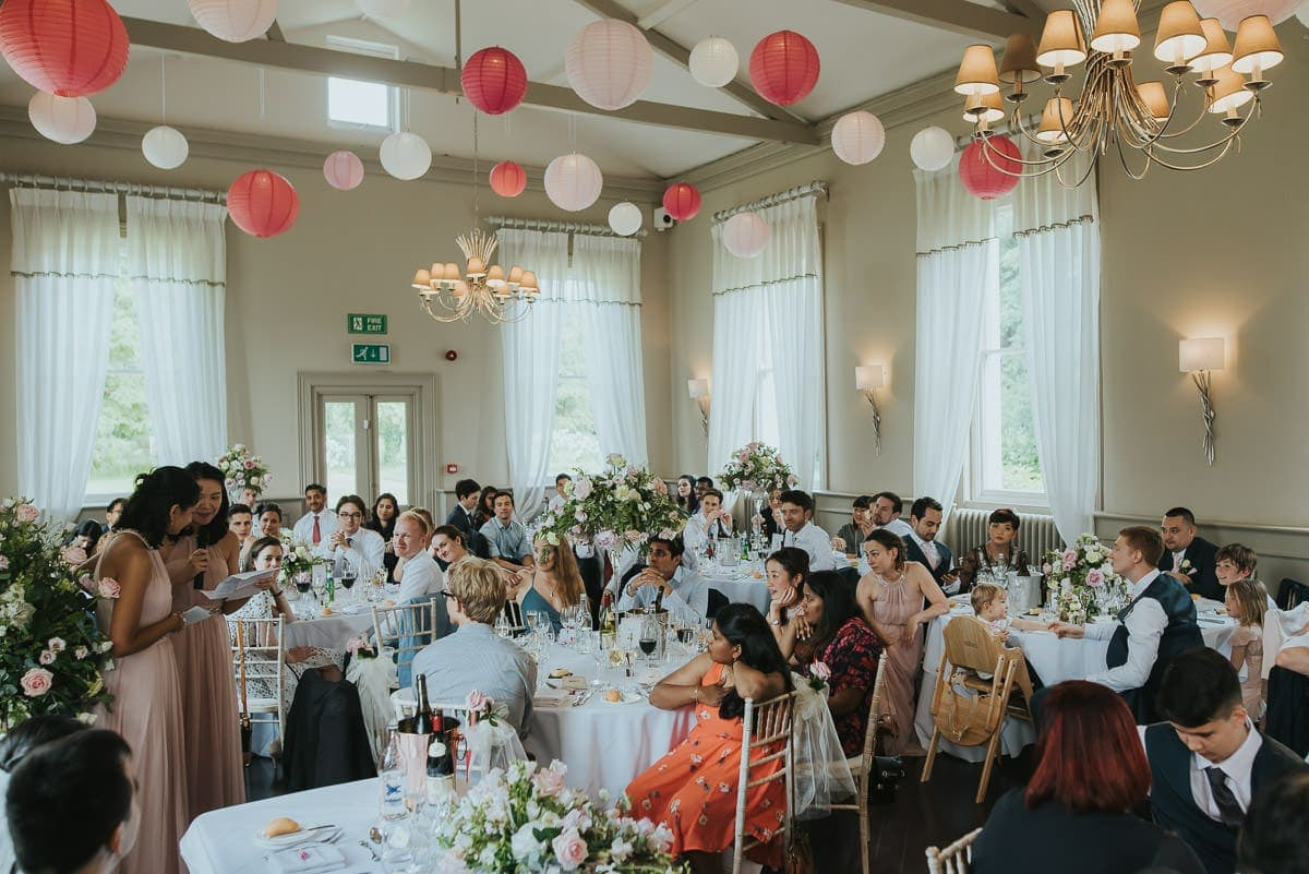 morden hall wedding speeches