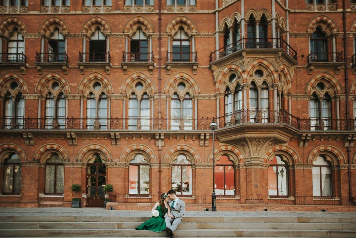 london st pancras wedding