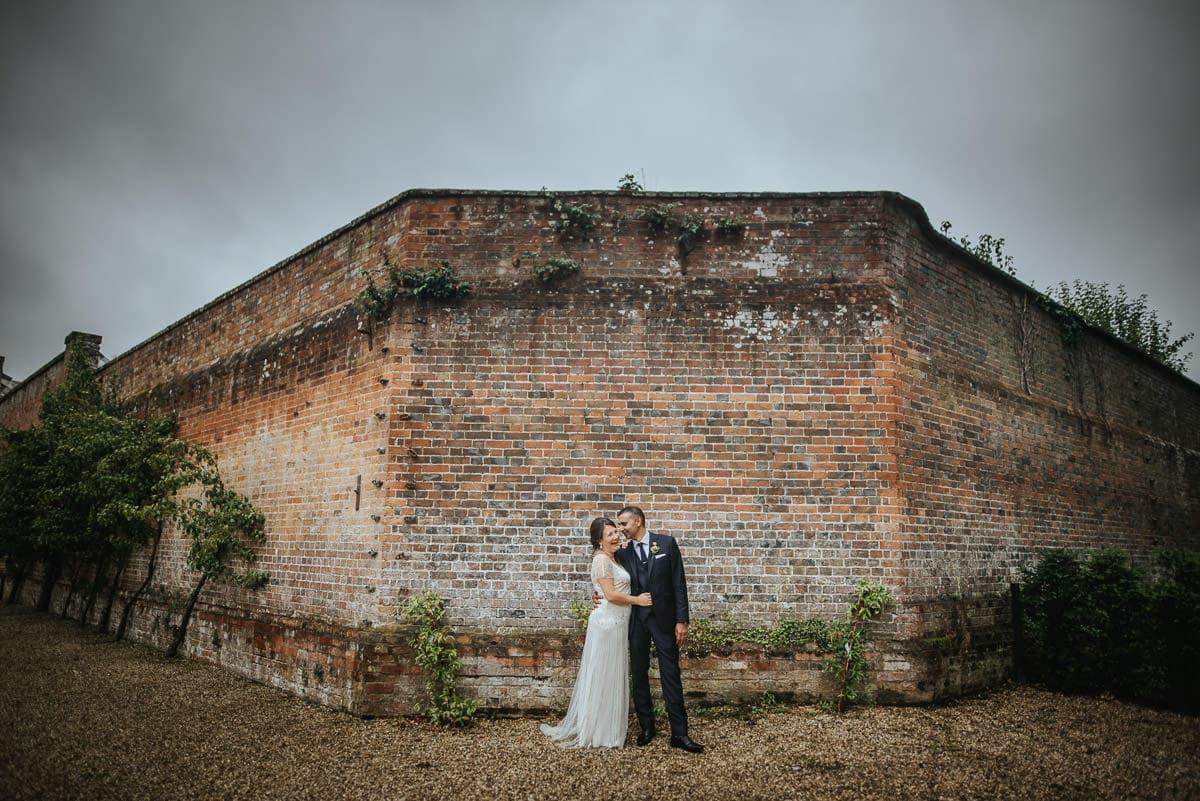 tipi wedding berkshire bride and groom photoshoot