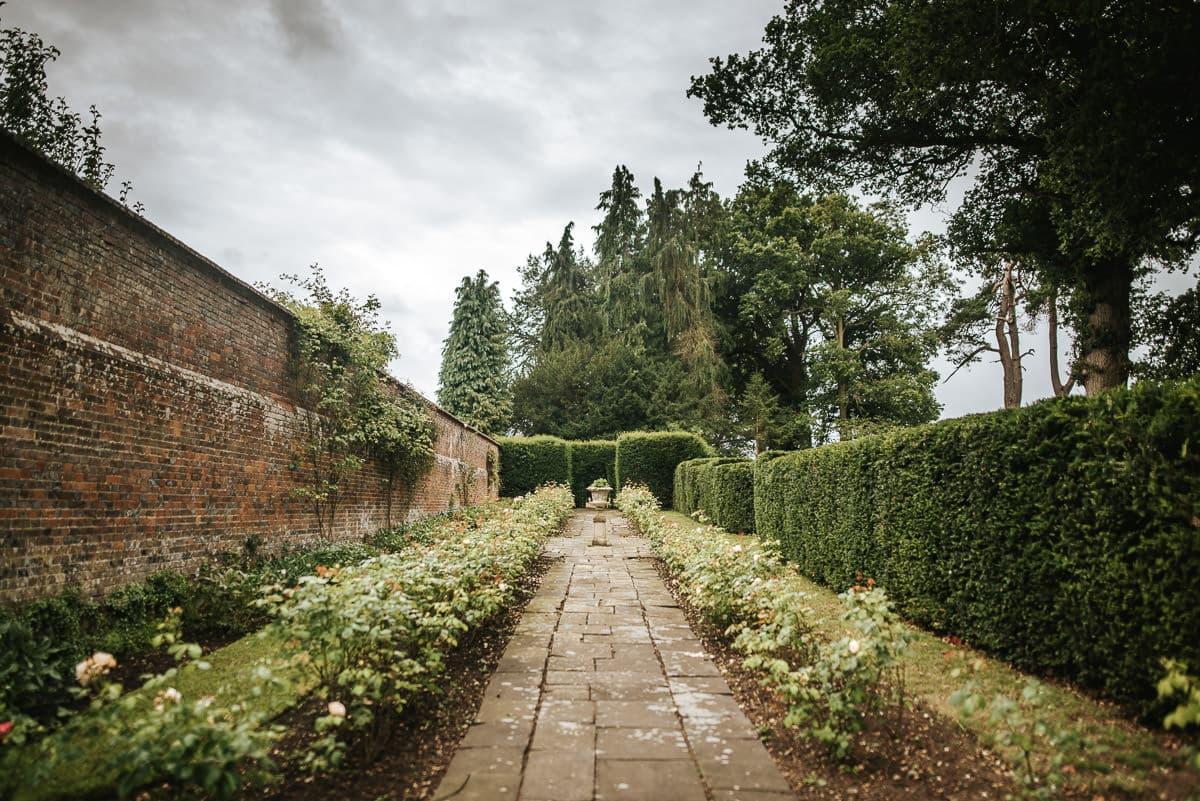 secret walled garden berkshire wedding