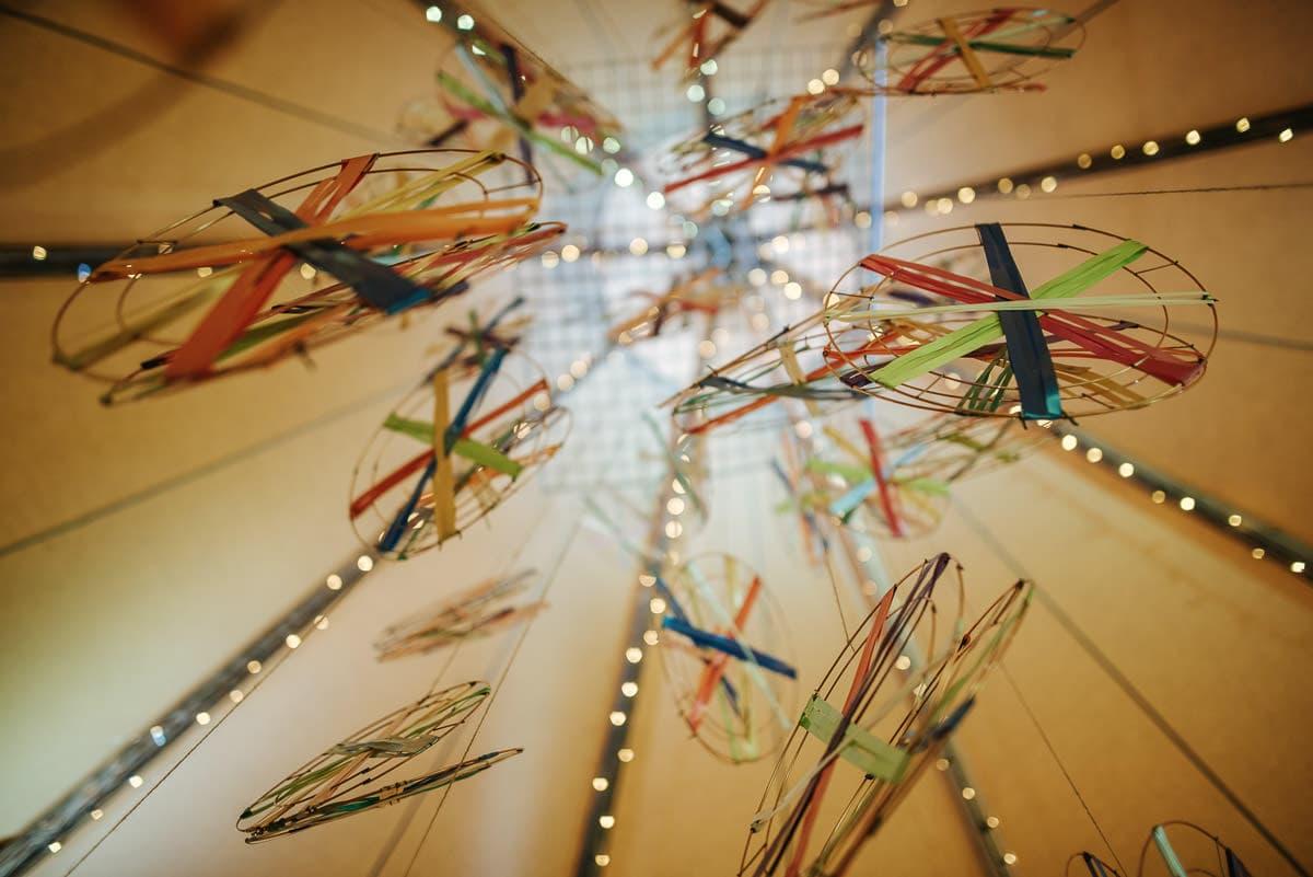 tipi wedding berkshire decoration ideas