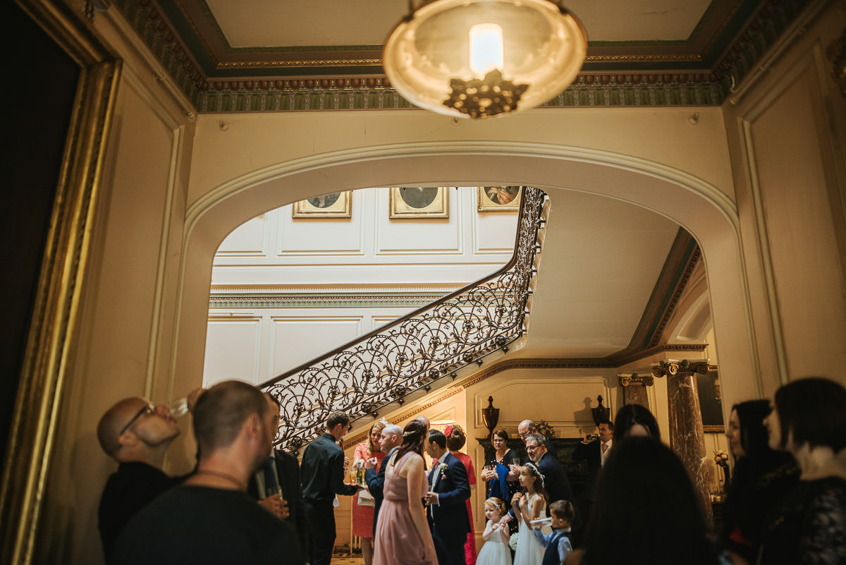 mount ephraim gardens interior wedding