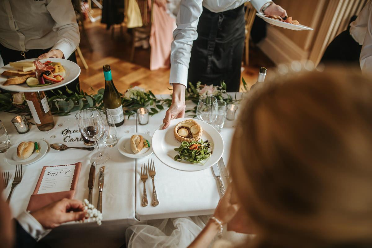 mount ephraim gardens wedding food