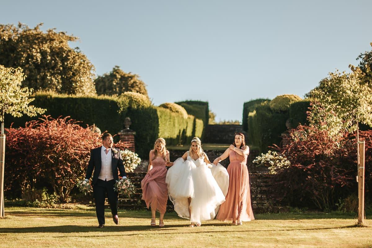 mount ephraim gardens wedding couple shoot