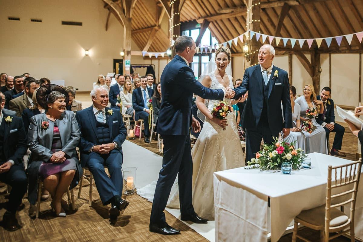 norton park wedding ceremony