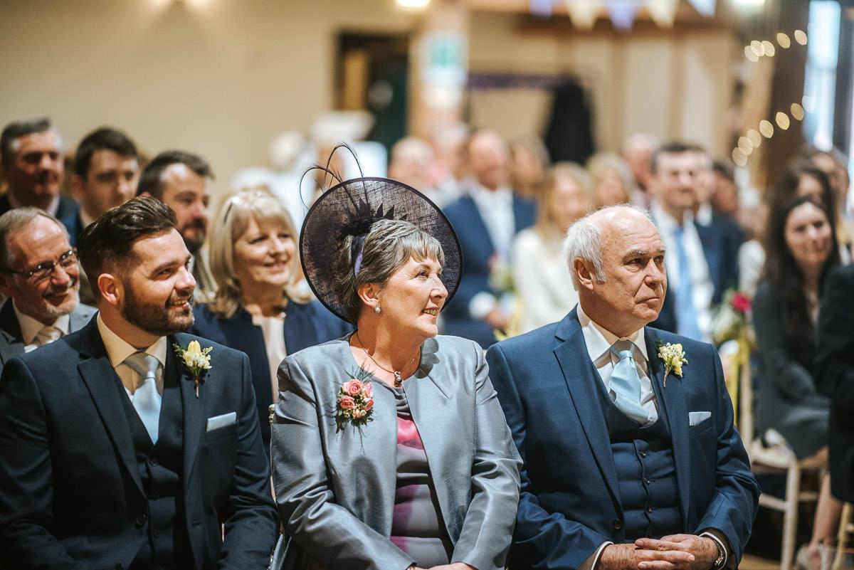 norton park wedding ceremony mum