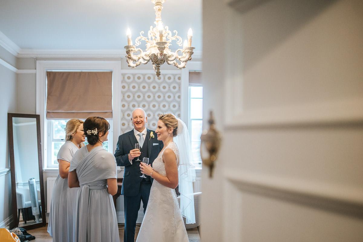 norton park wedding getting ready