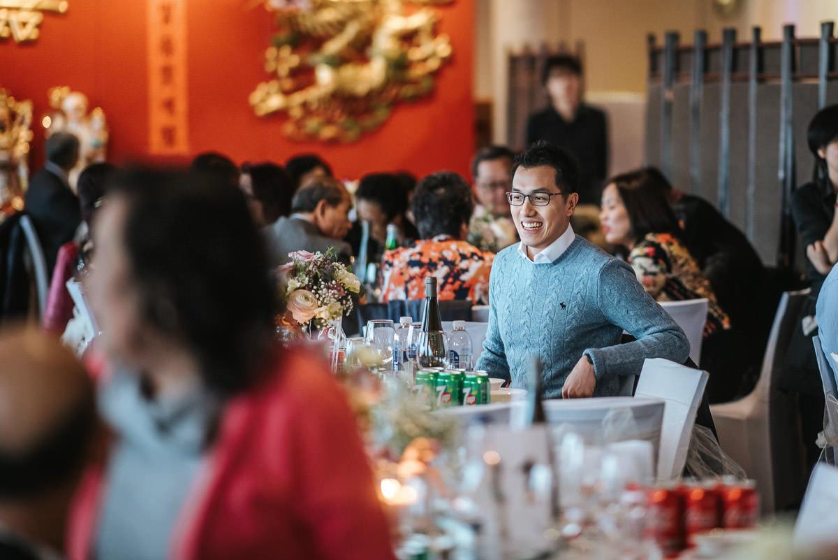 chinese wedding london yi-ban guests