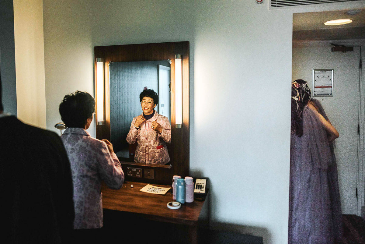 chinese wedding photography london getting ready
