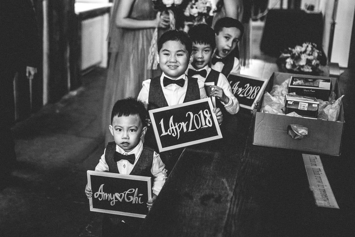 chinese wedding london hall place bexley boys