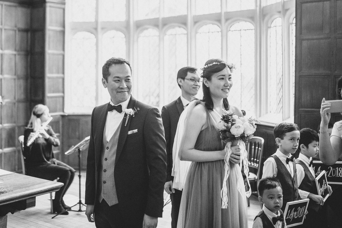 chinese wedding london hall place bexley grooms rection
