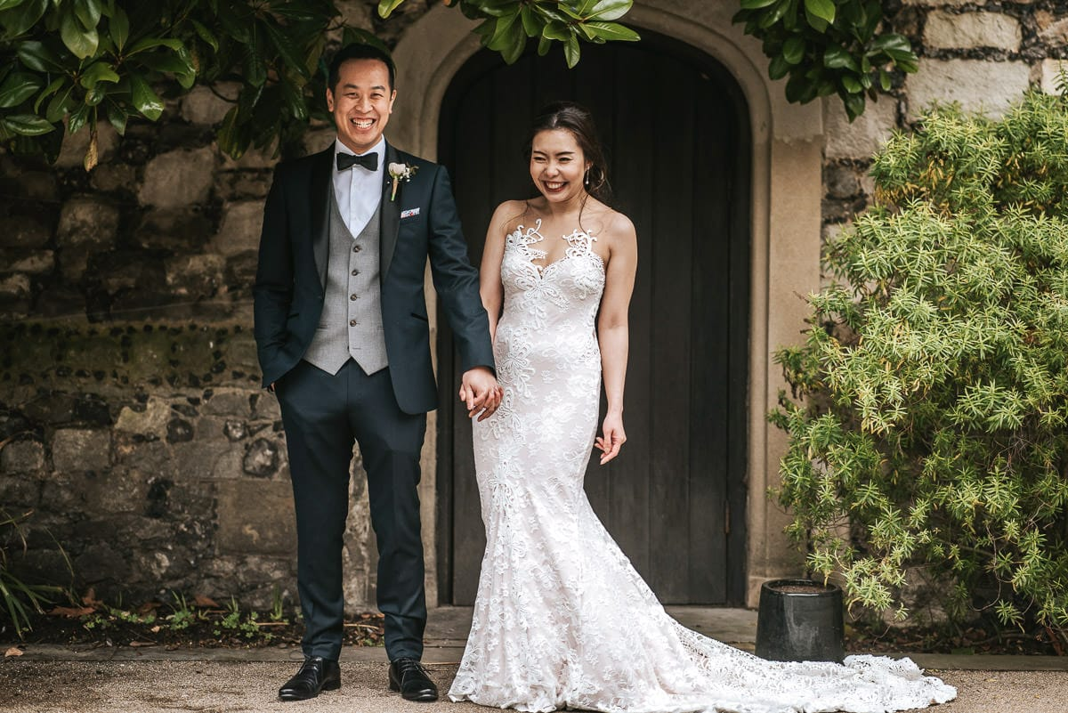 chinese wedding london hall place bexley bride and groom shoot