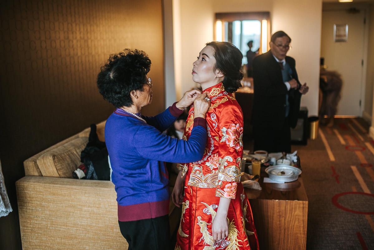 chinese wedding photography london dress on