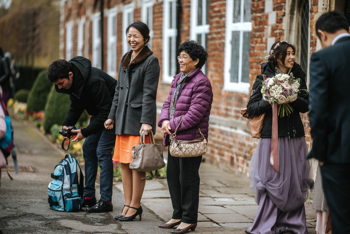 chinese wedding london hall place guests