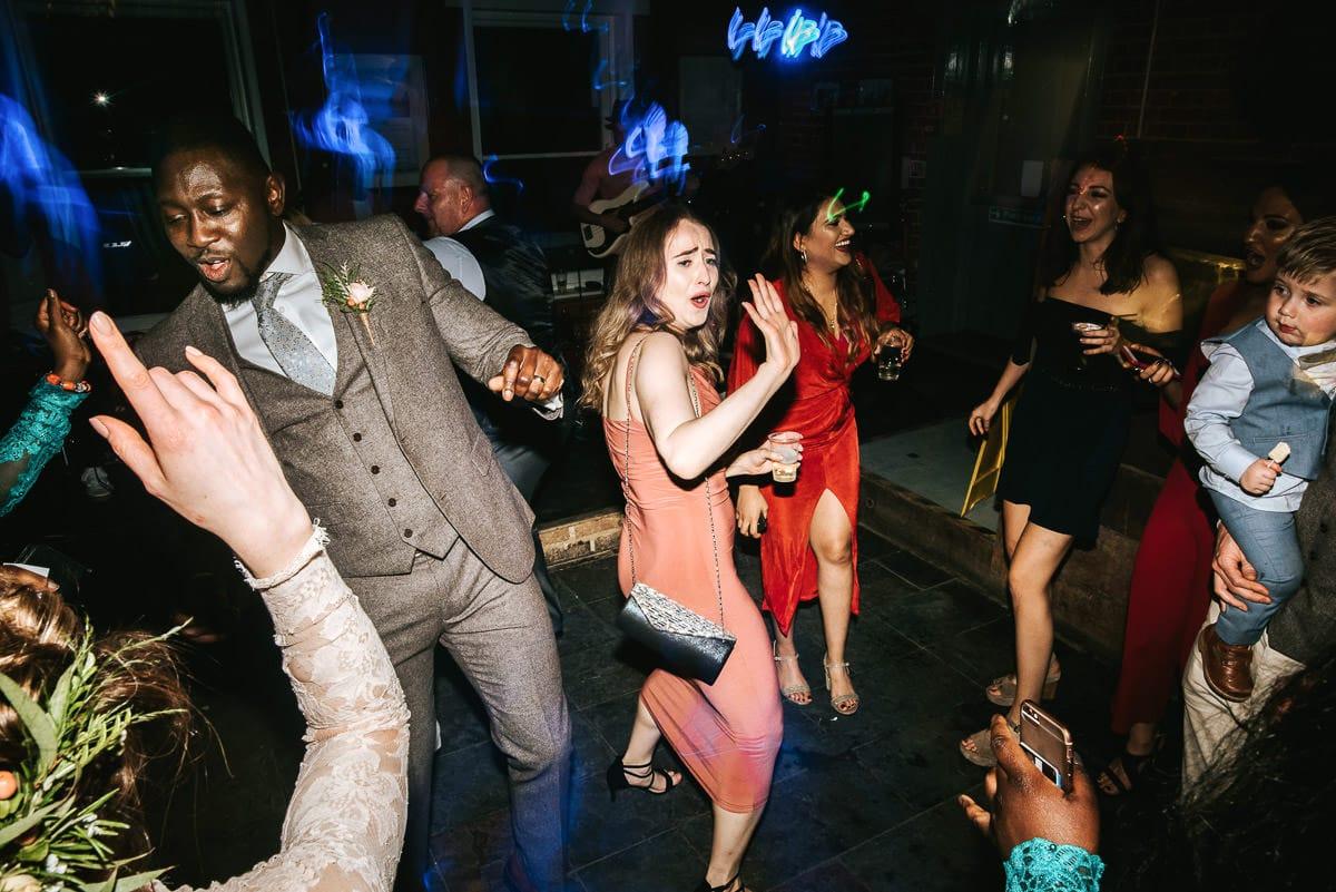 east quay venue wedding guests party