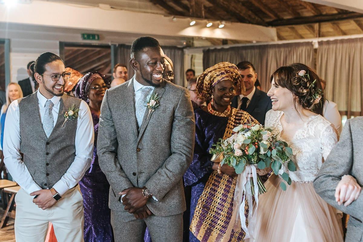 east quay venue wedding bride and groom