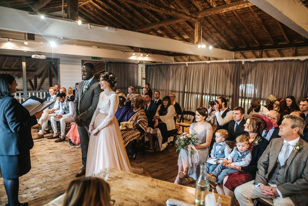 east quay venue wedding ceremony